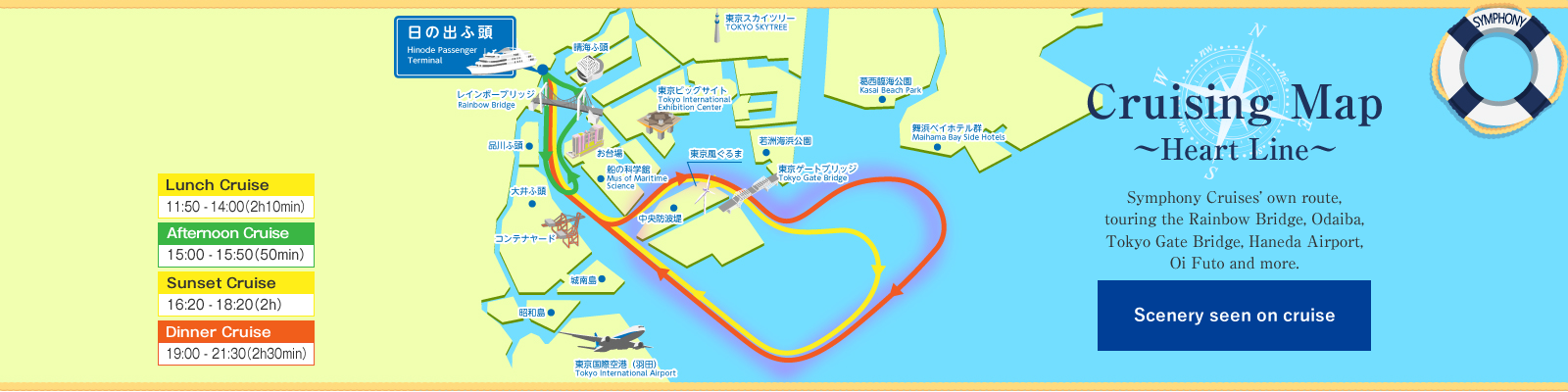 Cruising Map -Heart Line-